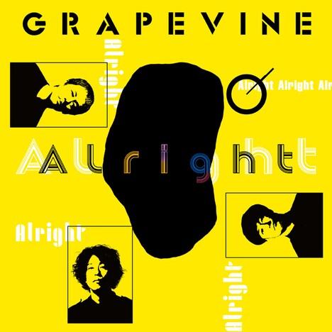 GRAPEVINE「Alright」配信ジャケット