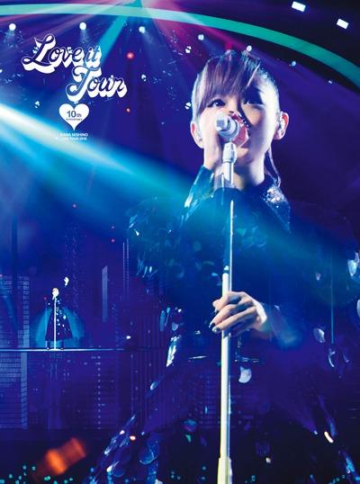 西野カナ「LOVE it Tour ~10th Anniversary~」Blu-rayジャケット