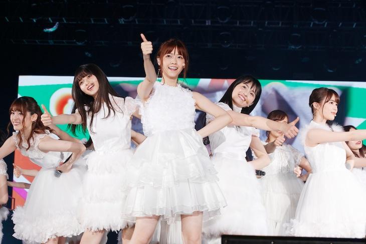 乃木坂46「NOGIZAKA46 Live in Shanghai」の様子。(写真提供:ソニー・ミュージックレコーズ)