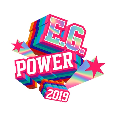 「E.G.POWER 2019 ~POWER to the DOME~」ロゴ