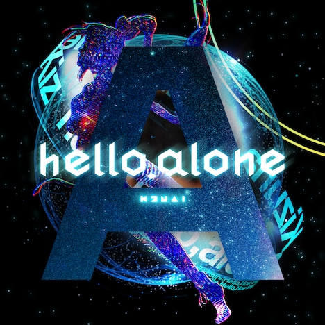 Kizuna AI(キズナアイ)「hello, alone」配信ジャケット