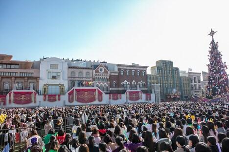 超特急のスペシャルライブが行われたグラマシーパーク。(撮影:米山三郎)