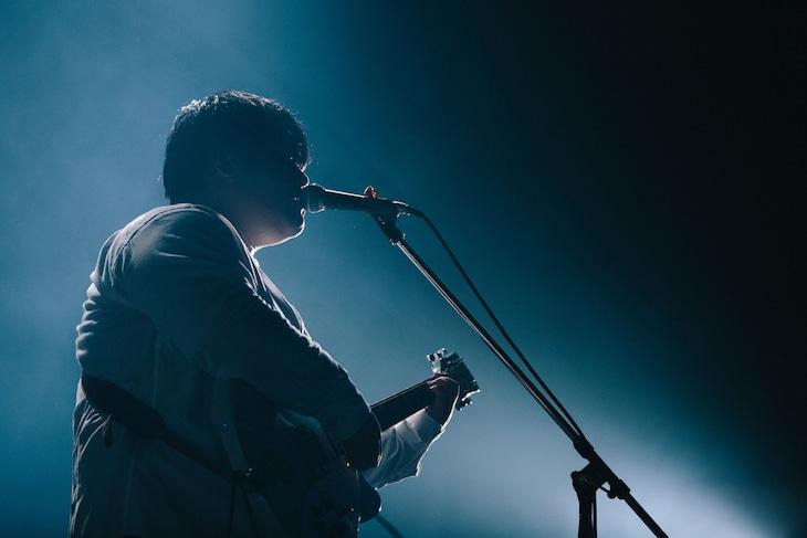 """「スカート Major 1st Single「遠い春」リリースツアー""""far spring tour 2018""""」最終公演の様子。(撮影:廣田達也)"""