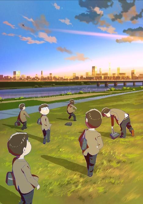 映画「えいがのおそ松さん」ティザービジュアル (c)赤塚不二夫/えいがのおそ松さん製作委員会 2019