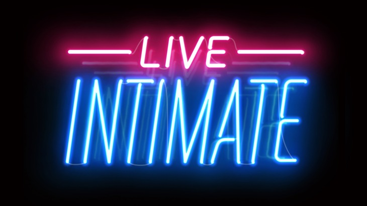 「GYAO!&J-WAVE present LIVE INTIMATE」ロゴ