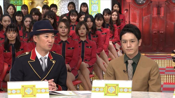左から中居正広、滝沢秀明。 (c)TBS