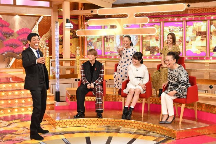 「爆笑!明石家さんまのご長寿グランプリ2018」のワンシーン。(c)TBS