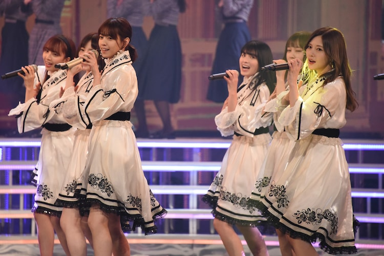 12月29日に行われた乃木坂46の音合わせの様子。