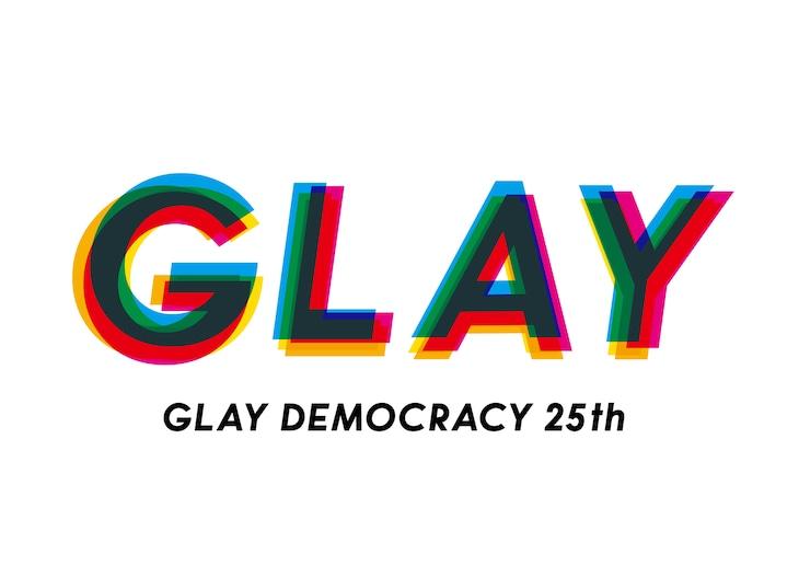 「GLAY DEMOCRACY」ロゴ