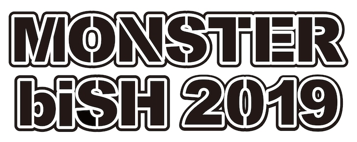 「MONSTER biSH 2019」ロゴ