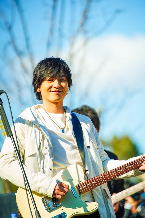 山村隆太(Vo)(撮影:渡邉一生)