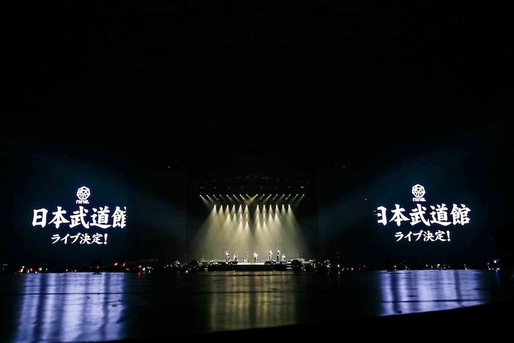 祭nine.の東京・日本武道館公演開催発表時の様子。(撮影:田中聖太郎写真事務所)