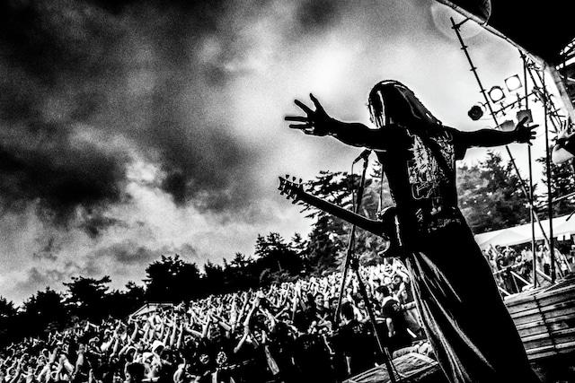 2017年「KESEN ROCK FESTIVAL'17」で撮影したマキシマム ザ ホルモン。