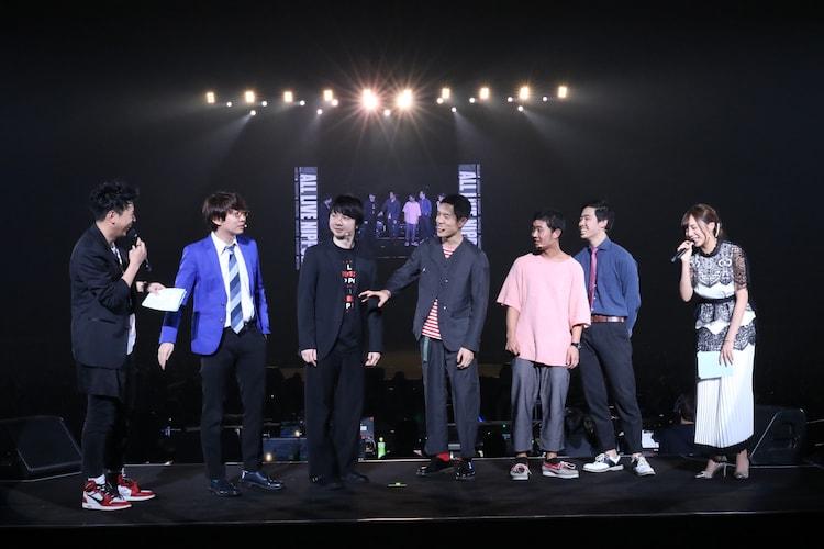 「ニッポン放送オールナイトニッポン presents ALL LIVE NIPPON 2019」の様子。(写真提供:ニッポン放送)