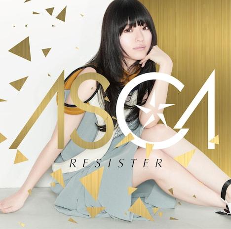 ASCA「RESISTER」初回限定盤ジャケット