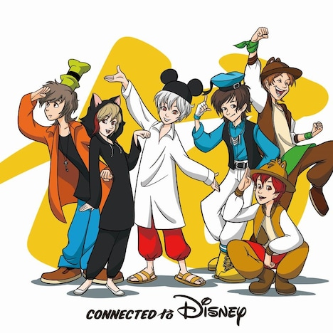 V.A.「Connected to Disney」通常盤ジャケット
