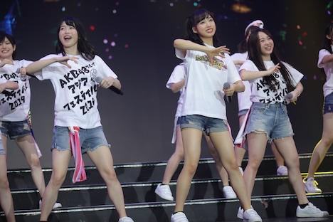「AKB48 Group Asia Festival 2019 in BANGKOK Presented by SHANDA GAMES」の様子。 (c)AKS