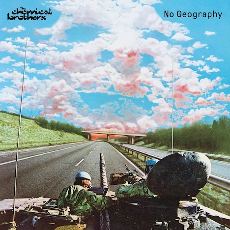 The Chemical Brothers「No Geography」ジャケット