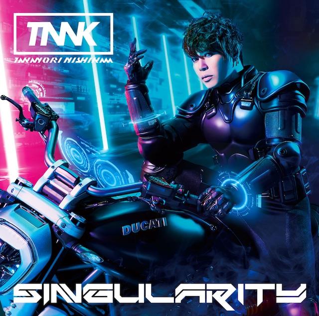 西川貴教「SINGularity」初回限定盤ジャケット