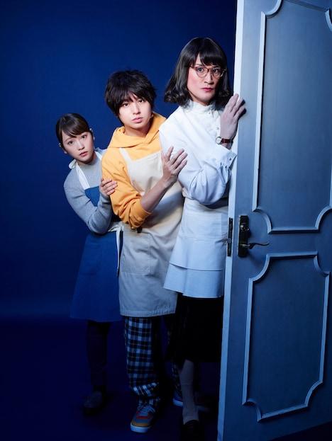 """人気画像1位は「TOKIO松岡『家政夫のミタゾノ』""""新米家政夫""""伊野尾慧連れて帰ってきた」より、「家政夫のミタゾノ」メインビジュアル。"""