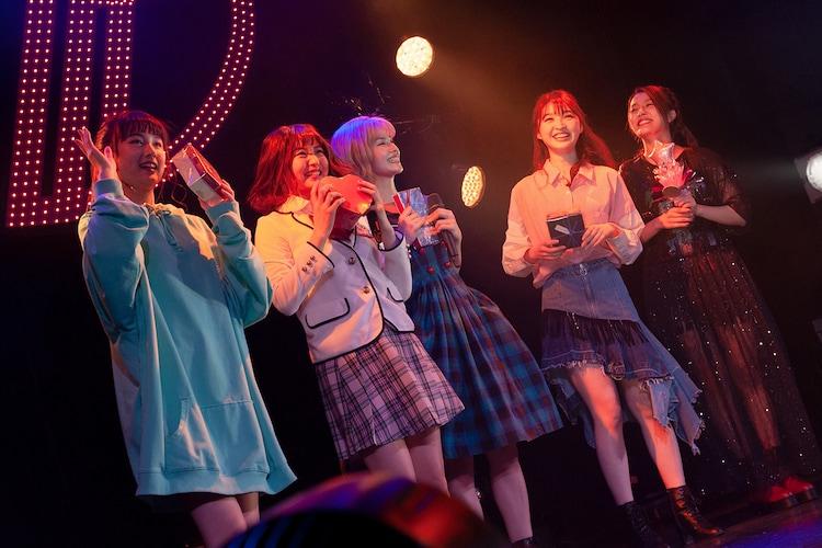 「TPDバレンタイン劇場」の様子。(写真提供:EPICレコードジャパン)