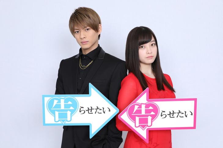 左から平野紫耀(King & Prince)、橋本環奈。(c)2019映画「かぐや様は告らせたい」製作委員会