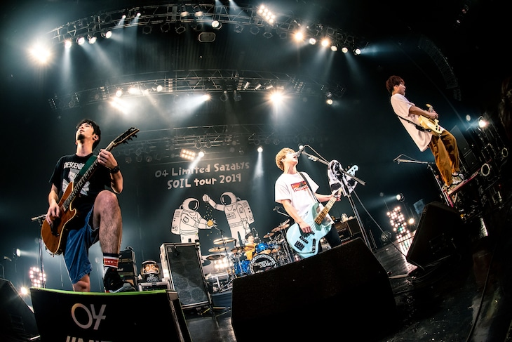 04 Limited Sazabys「SOIL tour 2019~one man series~」最終公演の様子。(撮影:ヤオタケシ)