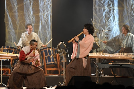 AUN Jクラシック・オーケストラ「Spring Concert 2019 The Sounds of Japan~THIS IS AUNJ~」東京・三越劇場公演の様子。(写真提供:ハートツリー)