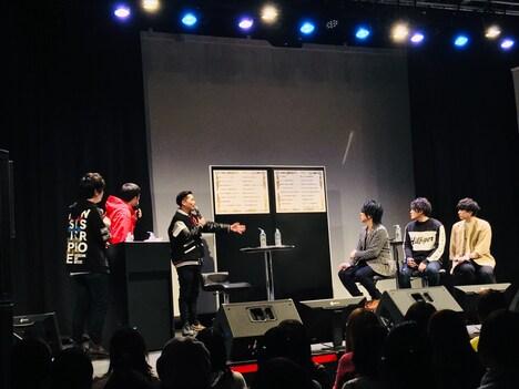 ニコ生特番「ヒプノシスマイク -Division Rap Meeting-」の様子