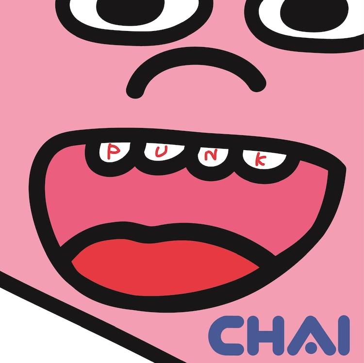 CHAI「PUNK」輸入盤ジャケット