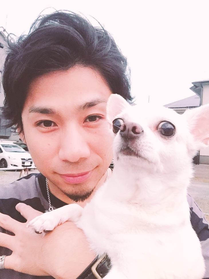 吉田結威(吉田山田)× 愛犬の吉田チャーリー