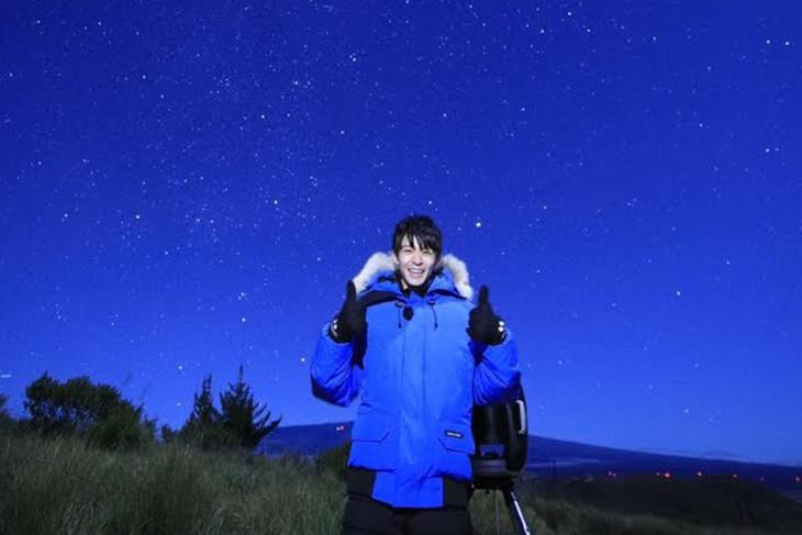 TBS系「宇宙プロジェクト2019」より海外ロケに臨んだ岸優太(King & Prince)。(c)TBS