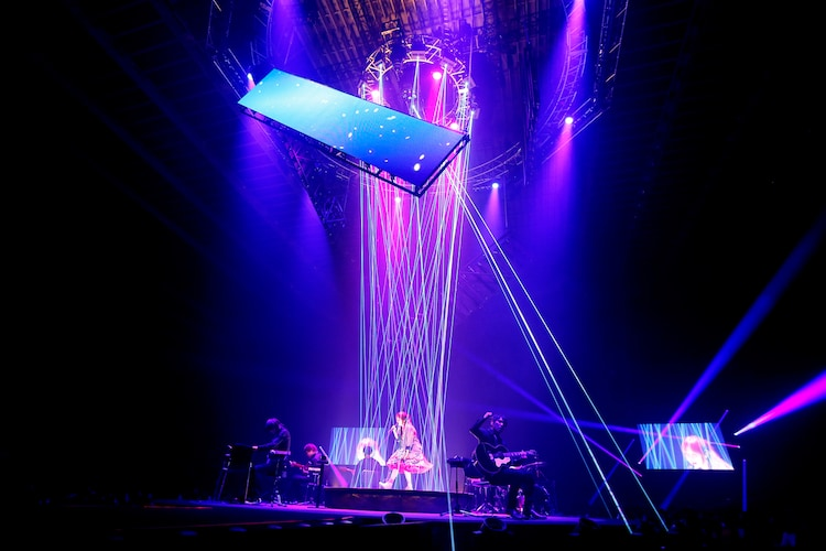 aiko「aiko Live Tour Love Like Pop vol.21」の様子。(撮影:岡田貴之)