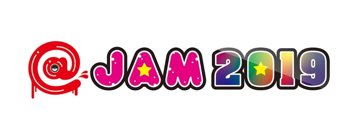「@JAM 2019」ロゴ