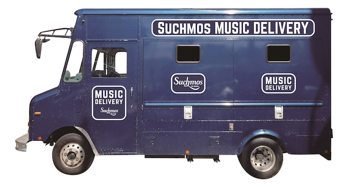「MUSIC DELIVERY」トラック側面