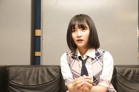 矢作萌夏(AKB48)(c)フジテレビ