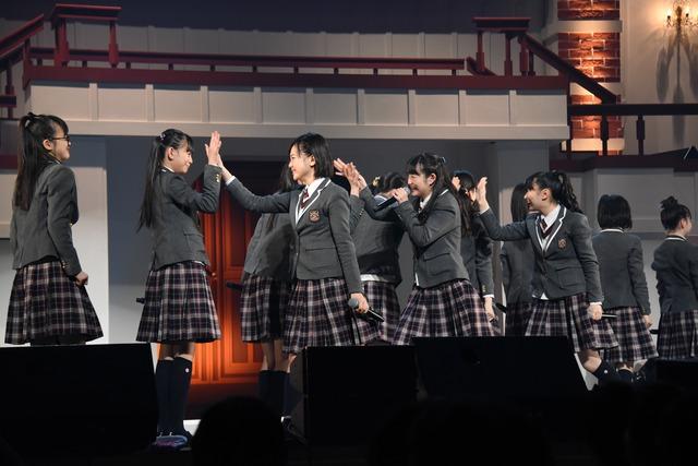 「The Road to Graduation 2018 Final ~さくら学院 2018年度 卒業~」の様子。