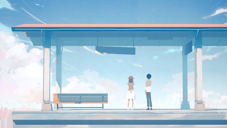 ヨルシカ「だから僕は音楽を辞めた」ミュージックビデオのワンシーン。