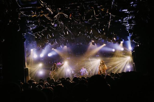 リーガルリリーpresents「春はあけぼのツアー」渋谷CLUB QUATTRO公演の様子。(撮影:南風子)