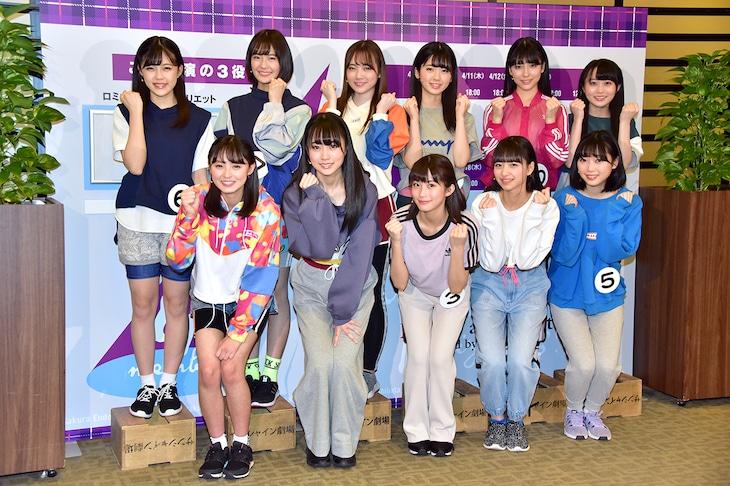 乃木坂46 4期生初公演「3人のプリンシパル」囲み取材より。