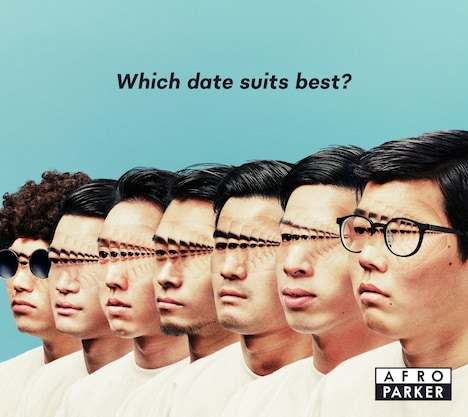 AFRO PARKER「Which date suits best?」ジャケット