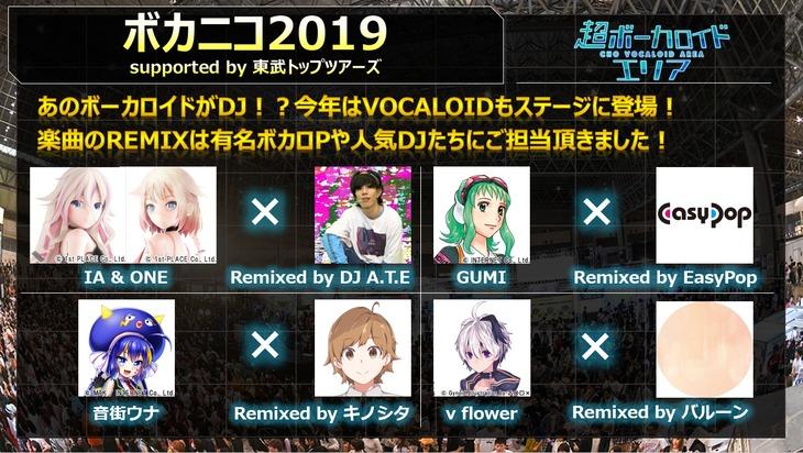 「超ボカニコ2019 supported by 東武トップツアーズ」
