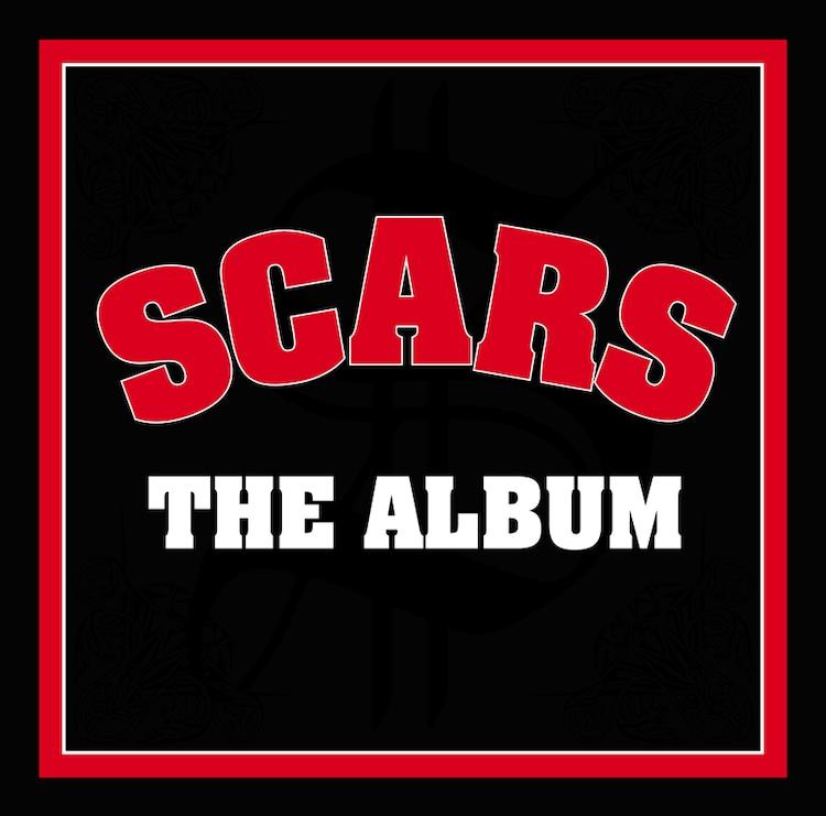 SCARS「THE ALBUM」ジャケット