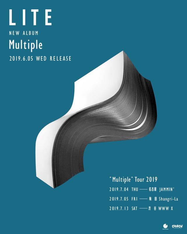 "「LITE ""Multiple"" Tour 2019」東名阪ツアービジュアル"