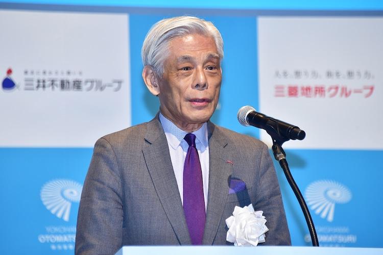 横浜アーツフェスティバル実行委員会の近藤誠一委員長。