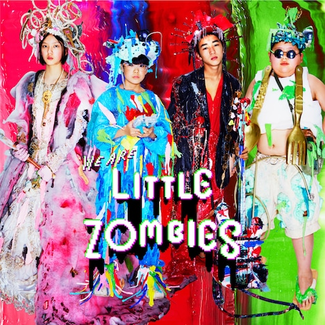 LITTLE ZOMBIES「WE ARE LITTLE ZOMBIES配信ジャケット