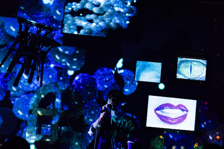 神山羊 プレミアムワンマンライブ「しあわせなおとなが眠るとき」の様子。(Photo by Ryuichi Taniura)