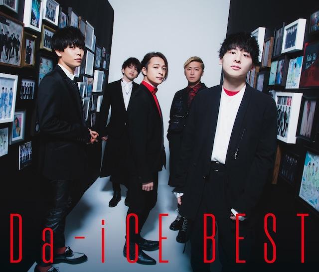 Da-iCE「Da-iCE BEST」初回限定盤Aジャケット