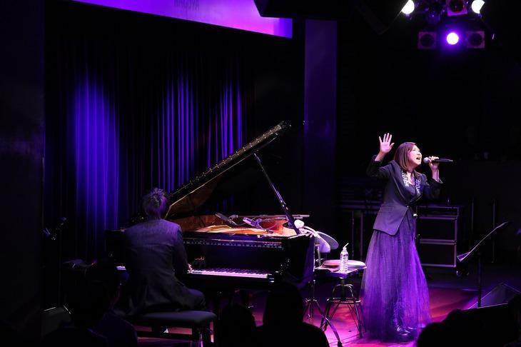 「高橋洋子×marasy Blue Note live in Nagoya」の様子。(撮影:安田慎一)