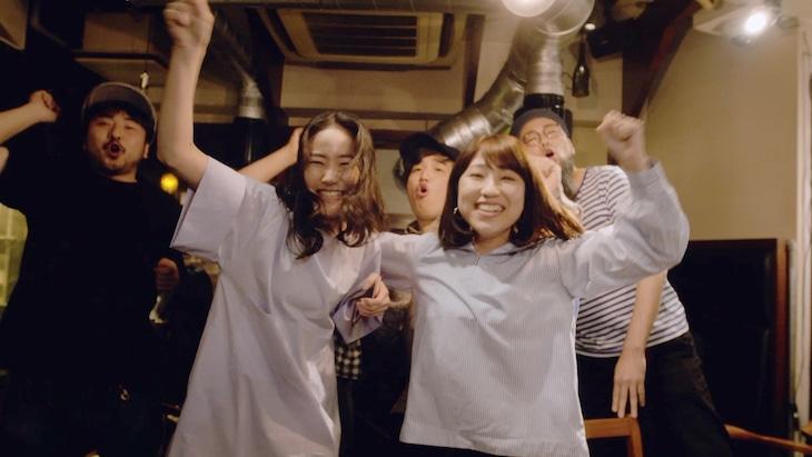 関取花「カメラを止めろ!」ミュージックビデオより。